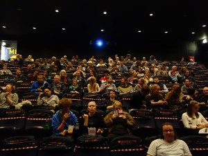 BIFF Norway - audience settles in